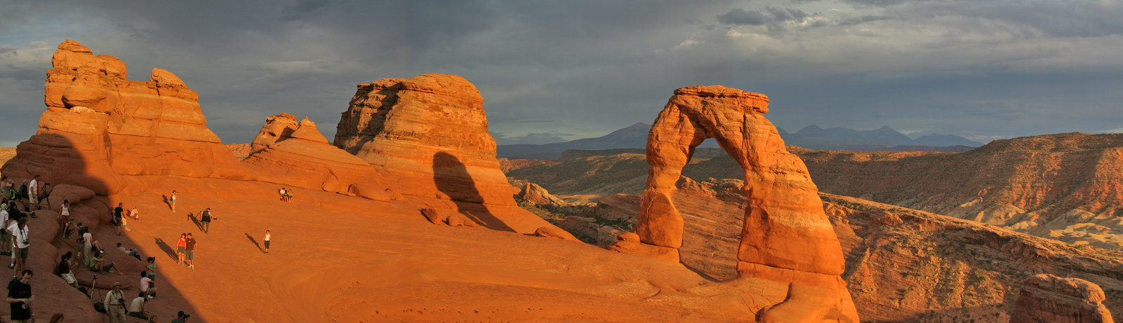 Panoramique Delicate Arch